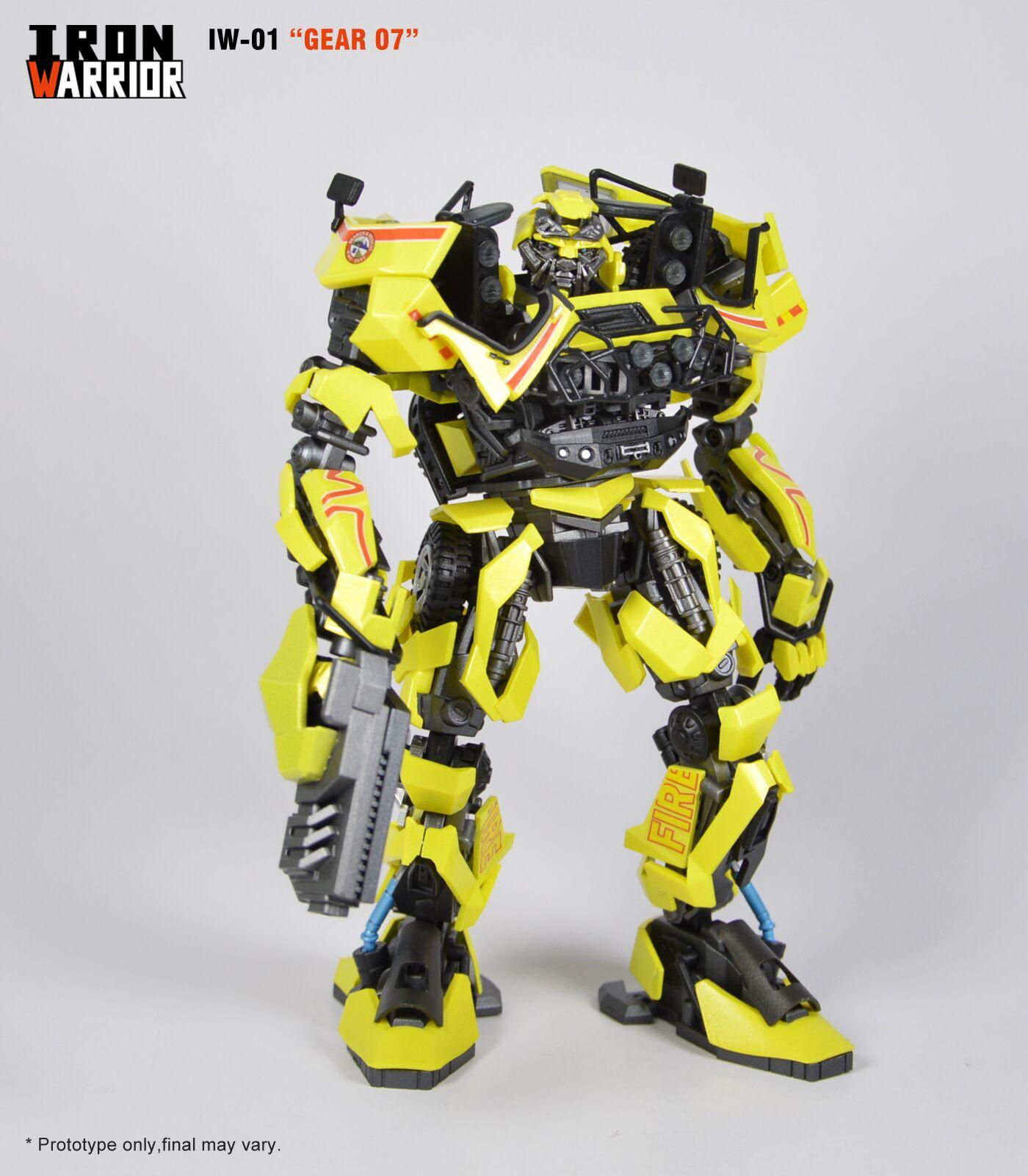 Iron Warrior Iw 01 Dmk Gear 07 Preorder X2otoys Malaysia