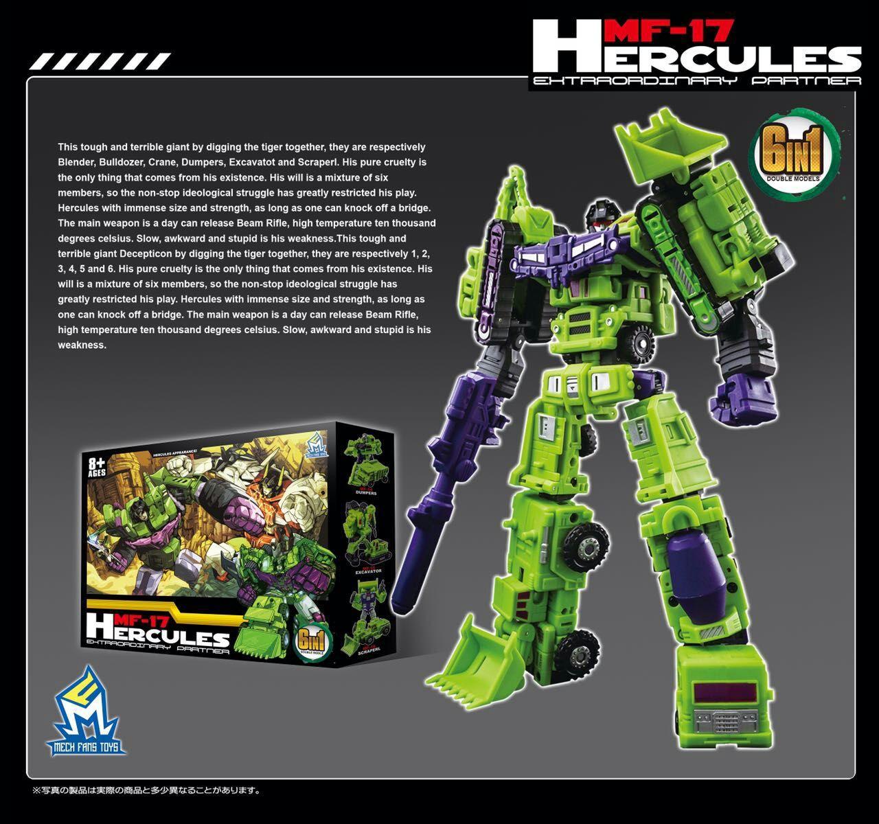 Mech Fans Toys Mf 17 Hercules G1 Ready Stock X2otoys